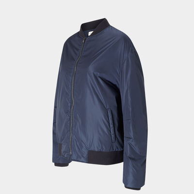 Silver Cloud bomber jacket