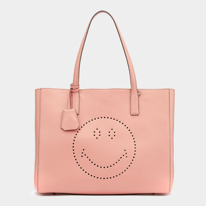 Smiley Ebury Shopper in {variationvalue} from Anya Hindmarch