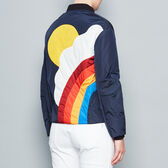 Silver Cloud bomber jacket