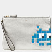 Space Invaders Zip-Top Pouch