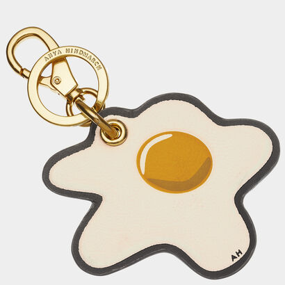 Egg Key Ring by Anya Hindmarch