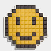 Oversized Pixel Smiley Sticker