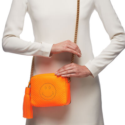 Python Smiley Cross-Body by Anya Hindmarch