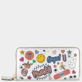 Large Zip-Around Wallet by Anya Hindmarch