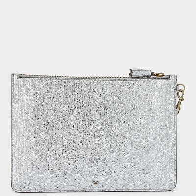 Circulus Large Zip-Top Pouch in {variationvalue} from Anya Hindmarch