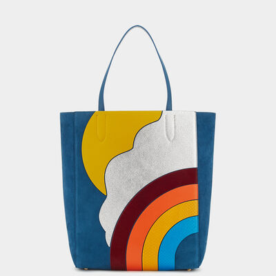 Silver Cloud Ebury Tote by Anya Hindmarch