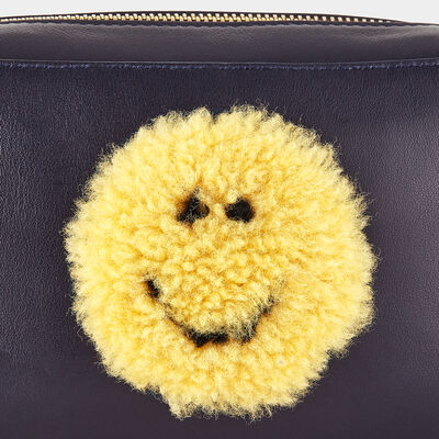 Smiley Mini Cross-Body by Anya Hindmarch
