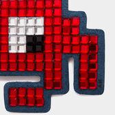 Space Invader Diamante Sticker