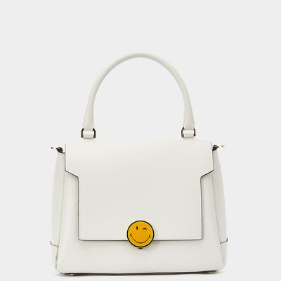 Bathurst Satchel with Smiley Lock