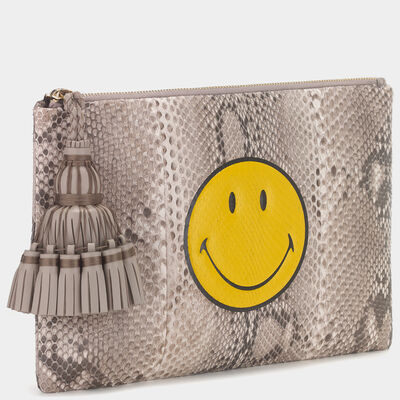 Smiley Georgiana Clutch