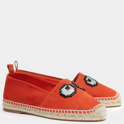 Eyes Espadrilles by Anya Hindmarch