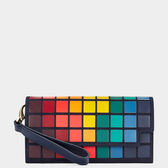 Giant Pixels Continental Wallet  in {variationvalue} from Anya Hindmarch