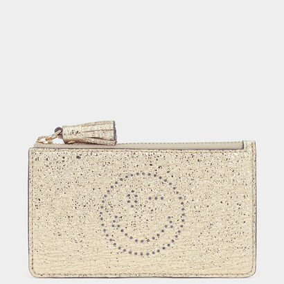 Wink Zipped Key Case by Anya Hindmarch