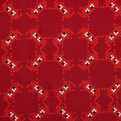 Space Invaders Silk Scarf