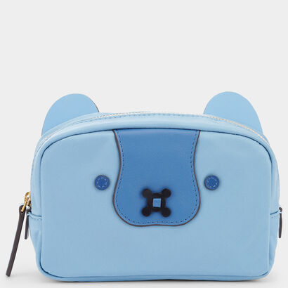 Husky Make-Up Pouch by Anya Hindmarch