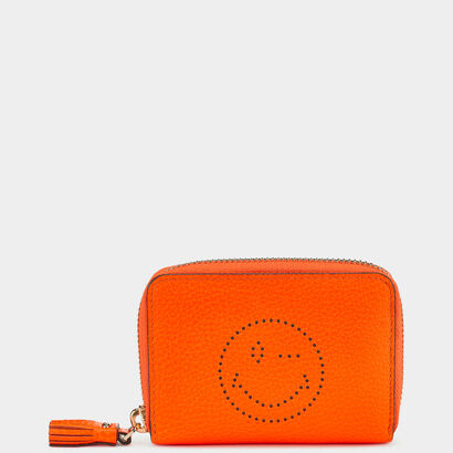 Wink Small Zip-Around Wallet in {variationvalue} from Anya Hindmarch