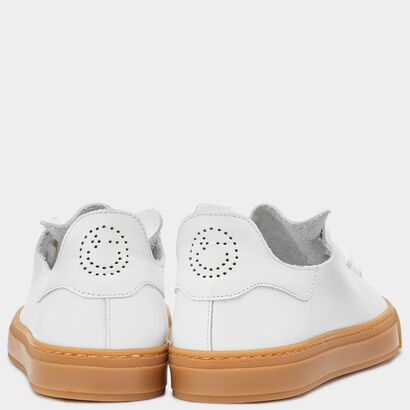 Men's Perforated Smiley Sneakers by Anya Hindmarch
