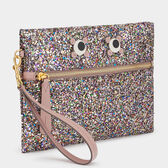 Eyes Circulus Pouch by Anya Hindmarch