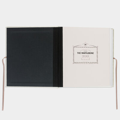 Bespoke Marylebone Album by Anya Hindmarch