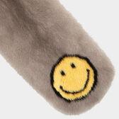 Smiley Mink Scarf