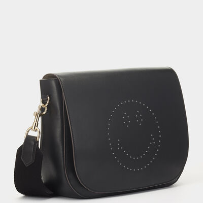 Smiley Ebury Satchel by Anya Hindmarch