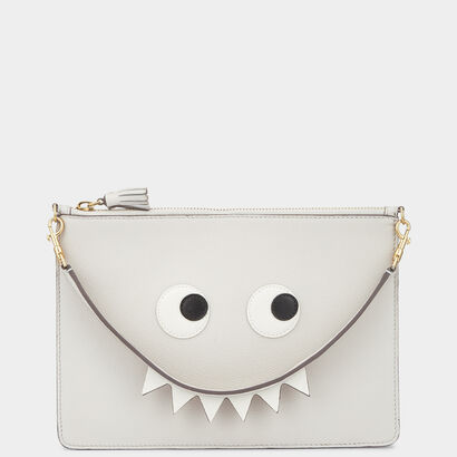 Creature Large Zip-Top Pouch by Anya Hindmarch