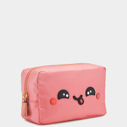 Kawaii Make-Up Pouch by Anya Hindmarch