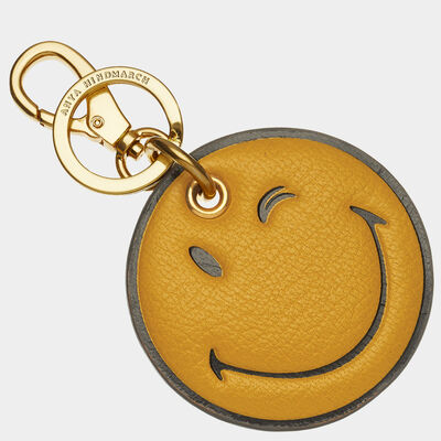 Wink Key Ring by Anya Hindmarch