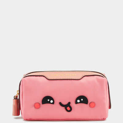 Kawaii Girlie Stuff Pouch in {variationvalue} from Anya Hindmarch