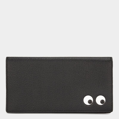 Men's Eyes Slimline Wallet by Anya Hindmarch