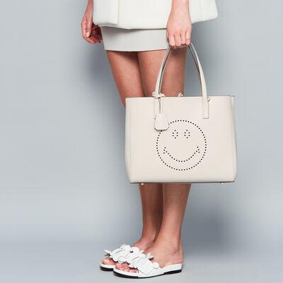 Smiley Ebury Shopper by Anya Hindmarch