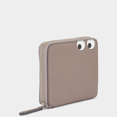 Men's Eyes Zip-Around Wallet by Anya Hindmarch
