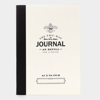 Bespoke Two Way Journal Refill A6 by Anya Hindmarch