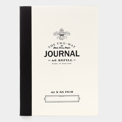 Bespoke Two Way Journal Refill A6