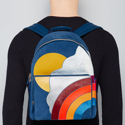 Silver Cloud Men's Backpack by Anya Hindmarch