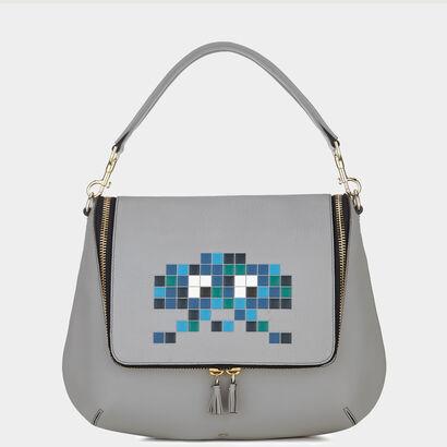 Maxi Zip satchel