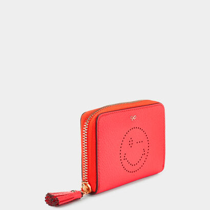 Wink Small Zip-Around Wallet