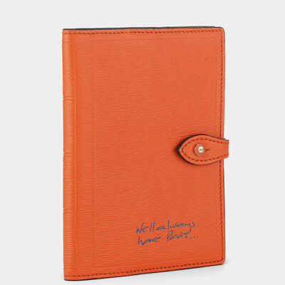 Bespoke Passport Case by Anya Hindmarch