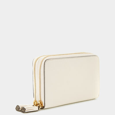 Bespoke Double-Zip Wallet by Anya Hindmarch