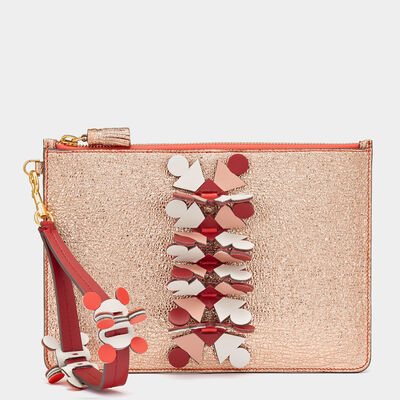Prism Large Zip-Top Pouch by Anya Hindmarch