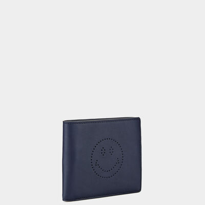 Smiley 8 Card Wallet  in {variationvalue} from Anya Hindmarch