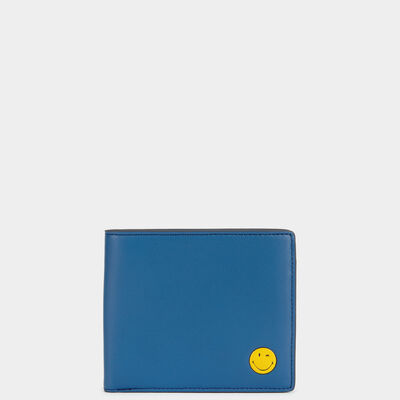 Smiley 8 Card Wallet  by Anya Hindmarch