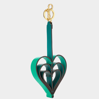 Heart Bag Charm in {variationvalue} from Anya Hindmarch