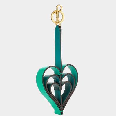 Heart Bag Charm by Anya Hindmarch
