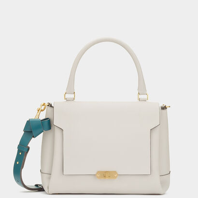 Circle Small Bathurst Satchel by Anya Hindmarch