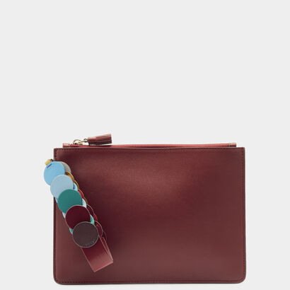 Zip-Top Pouch with Link Strap