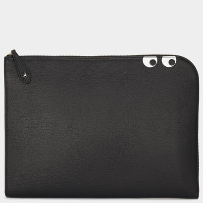 Eyes Document Case in {variationvalue} from Anya Hindmarch