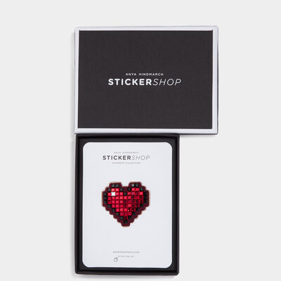 Heart Diamante Sticker by Anya Hindmarch