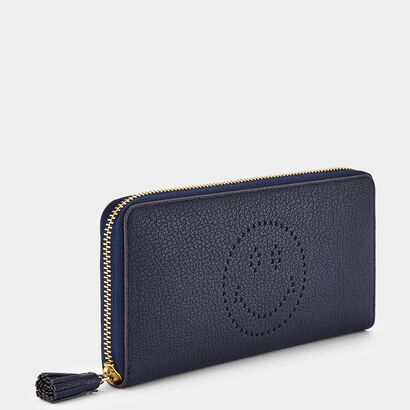 Large Zip-Round Wallet by Anya Hindmarch