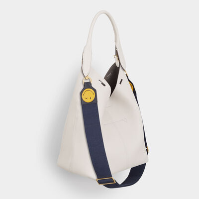 Wink Cotton Shoulder Strap by Anya Hindmarch